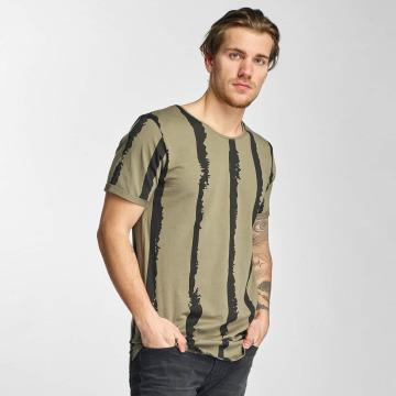 2Y T-Shirt Stripes kaki