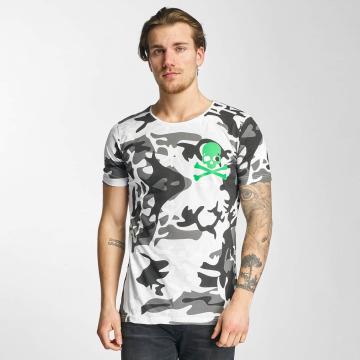 2Y T-skjorter Camo hvit