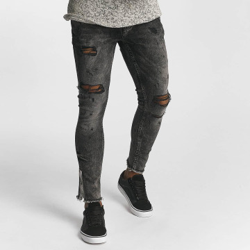 2Y Tynne bukser Daniel grå
