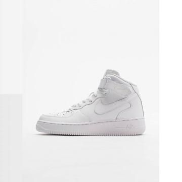 Nike Air Force 1 Mid Kids Basketball Sneakers WhiteWhite