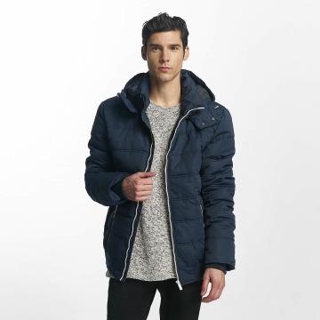 98-86 Стеганая куртка Quilted синий
