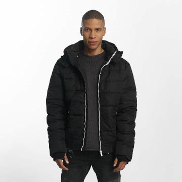 98-86 Стеганая куртка Quilted черный