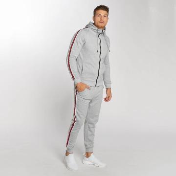 Aarhon Спортивные костюмы Coloured Stripes серый