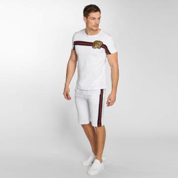 Aarhon Anzug Set Stripe weiß