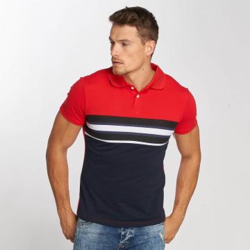 Aarhon Polo Stripe rouge