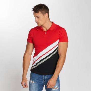 Aarhon Polo Diagonal rouge