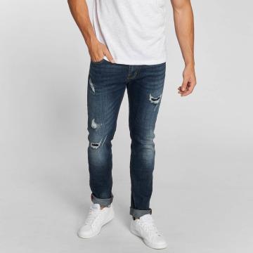 Aarhon Straight fit jeans Allen blauw