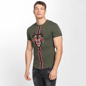 Aarhon T-paidat Tiger khakiruskea