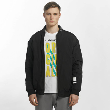 adidas Демисезонная куртка NMD Padded TT черный