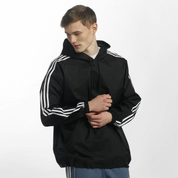 adidas Демисезонная куртка Poncho черный