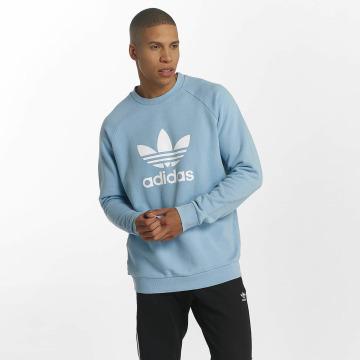 adidas Пуловер Trefoil синий