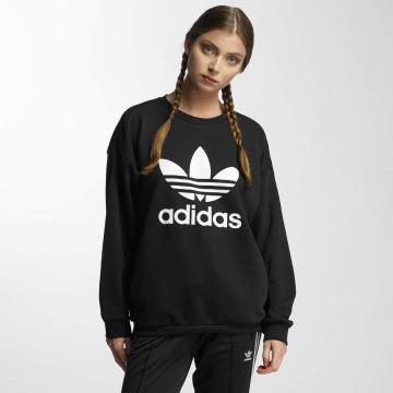 adidas Пуловер Trefoil черный