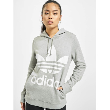 adidas Толстовка Trefoil серый