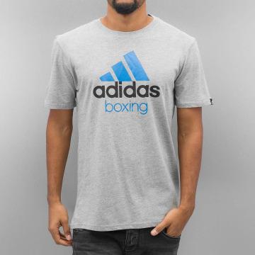 adidas Boxing MMA T-shirt Community grigio