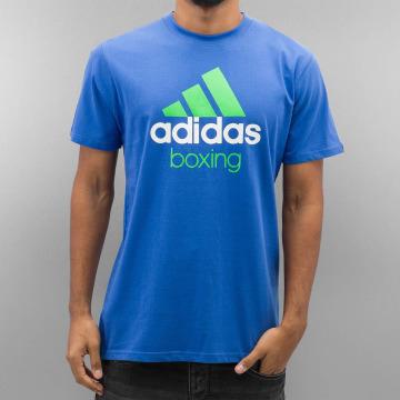 adidas Boxing MMA T-Shirty Community niebieski