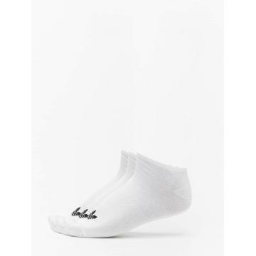 adidas Calzino Trefoil Liner bianco