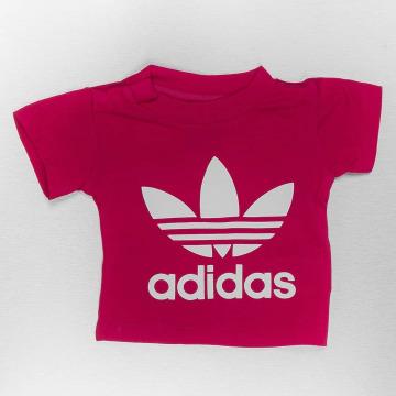 adidas Camiseta I Trefoil rojo