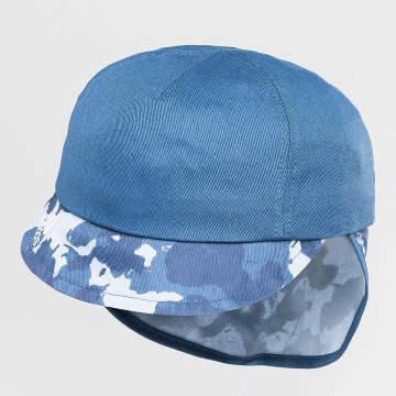 adidas Fitted Cap Neck Flap blauw