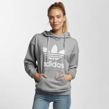 adidas Hoodie Trefoil grey