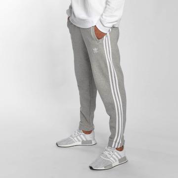 adidas Jogging kalhoty 3-Stripe šedá