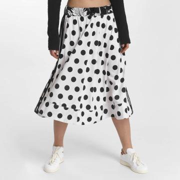 adidas Kjol Midi Skirt vit