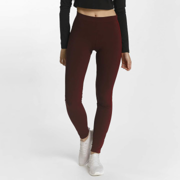 adidas Leggings/Treggings Adibreak czerwony