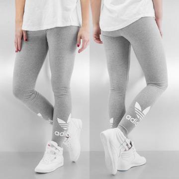 adidas Leggings/Treggings Trefoil szary