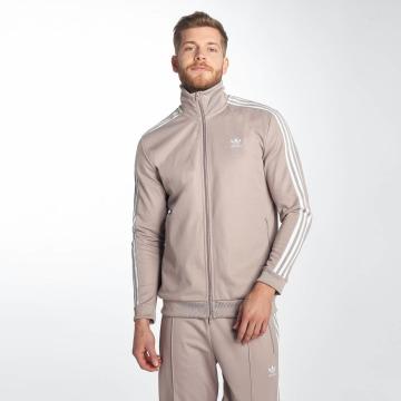 adidas originals Демисезонная куртка Beckenbauer серый