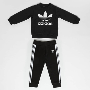 adidas originals Anzug Trefoil Set schwarz