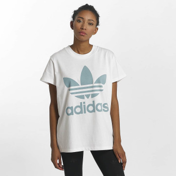 adidas originals Camiseta Big Trefoil blanco
