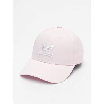 Adidas Originals Classic Trefoil Baseball Cap Clear Pink