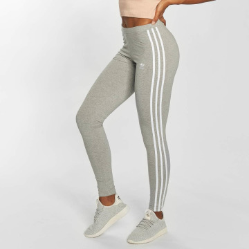 adidas originals leggings damen 3 streifen grau