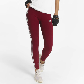 adidas originals Leggings 3 Stripes rosso