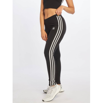 adidas originals Leggings/Treggings 3 Stripes czarny