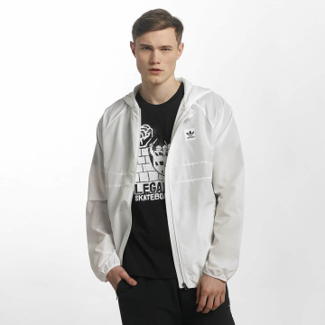 adidas originals Lightweight Jacket Blackbird white