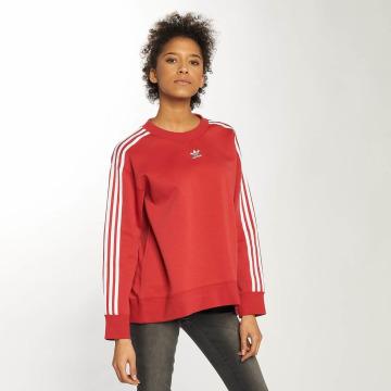 adidas originals Maglia Crew rosso