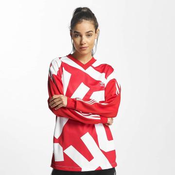adidas originals Pitkähihaiset paidat Oversized Track punainen