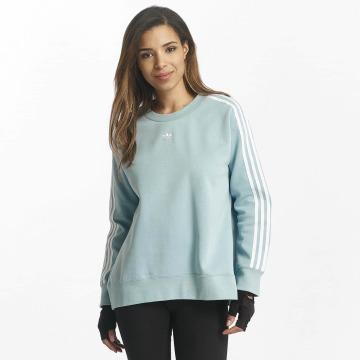 adidas originals Pullover 3 Stripes blau