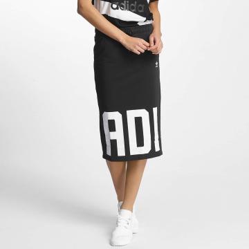 adidas originals rok Skirt zwart