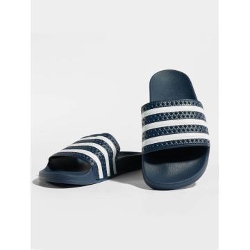 adidas originals Sandály Adiletten modrý