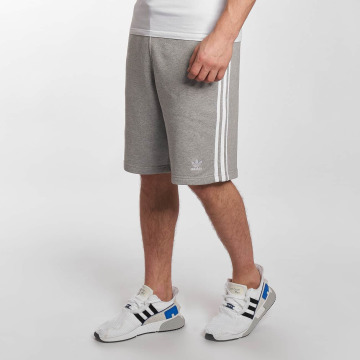 adidas originals Short 3-Stripes gris
