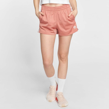 adidas originals Shortsit 3 Stripes vaaleanpunainen