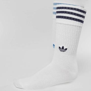 adidas originals Skarpetki 2-Pack Solid niebieski
