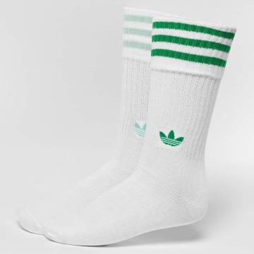 adidas originals Skarpetki 2-Pack Solid zielony