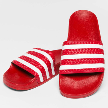 adidas originals Slipper/Sandaal Stripy rood