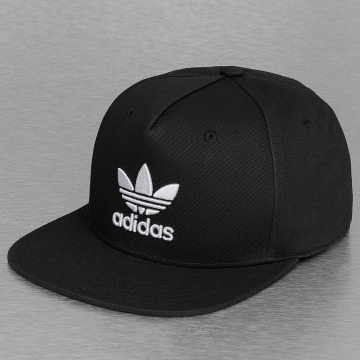adidas originals snapback cap Trefoil zwart