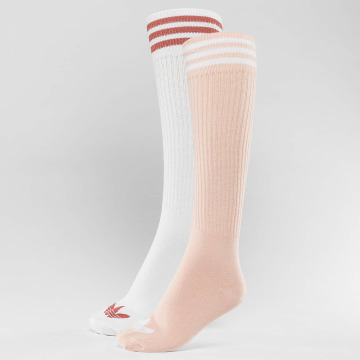adidas originals Socken 2-Pack S Knee rosa
