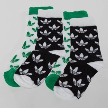 adidas originals Socks Trefoil Thin Crew white