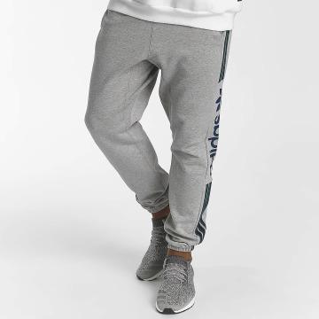 adidas originals Spodnie do joggingu Quarz Of Fleece szary