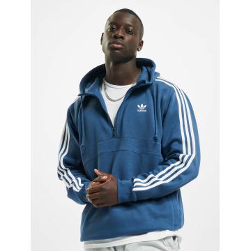 Adidas Originals 3 Stripes Zip Hoody Night Marine BLUE